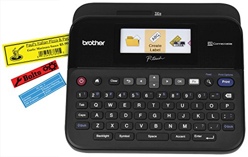Brother Printer PTD600 PC Connectible Label Maker with