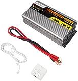 MicroSolar 1000W (Peak 2000W) Pure Sine Wave Inverter - with Remote Wire Controller