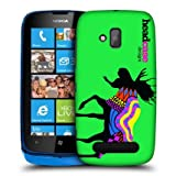 Head Case Moose Neon Animal Silhouette Hard Back Case Cover For Nokia Lumia 610