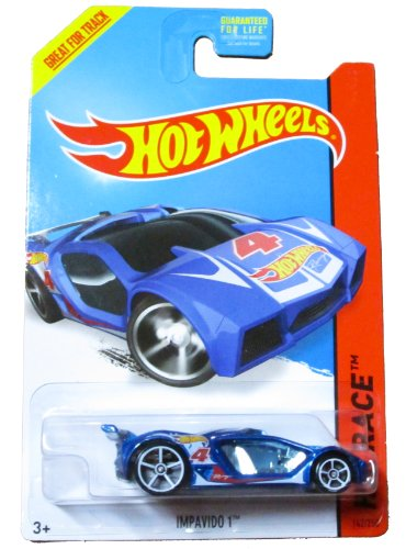 Hot Wheels HW Race - 142/250 - Impavido 1 (Blue)