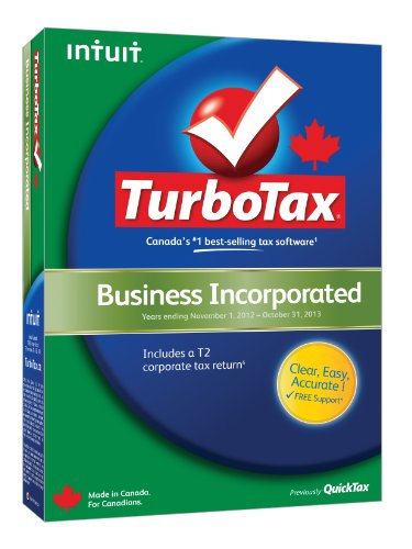 Intuit TurboTax Business Incorporated 2012