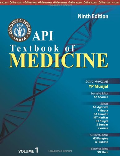 Api Textbook Of Medicine