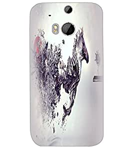 HTC ONE M8S HORSE Back Cover by PRINTSWAG
