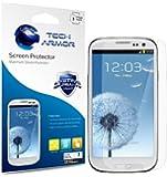 Tech Armor Samsung Galaxy S3 SIII Anti-Glare/Anti-Fingerprint (Matte) Screen Protectors [3-Pack] Lifetime Warranty
