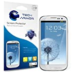 Tech Armor Samsung Galaxy S3 S III Premium Anti-Glare Anti-Fingerprint (Matte) Screen Protectors with Lifetime Replacement Warranty [3-Pack] – Retail Packaging