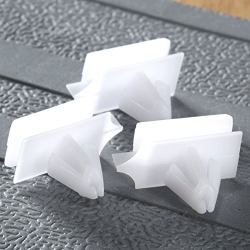 dophee-50pcs-white-pom-rocker-moulding-clips-retainer-fastener-for-buick-pontiac-hummer