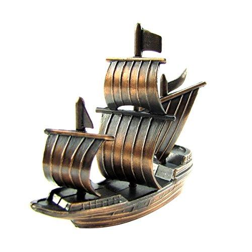 Bronze Metal Spanish Galleon Die Cast Pencil Sharpener