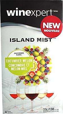 Island Mist Cucumber Melon Sauvignon Blanc Wine Kit by Home Brew Ohio