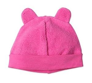 Zutano Infant Unisex-Baby Fleece Hat,Fuchsia,12m (6-12 months)