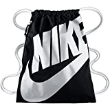 Nike Unisex Turnbeutel Heritage, black/white, 43 x 33 cm, BA5128-011