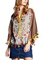 Peace & Love Blusa (Multicolor)