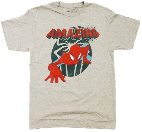 Spider-Man 2 Crawl Space Heather T-Shirt SF127MS