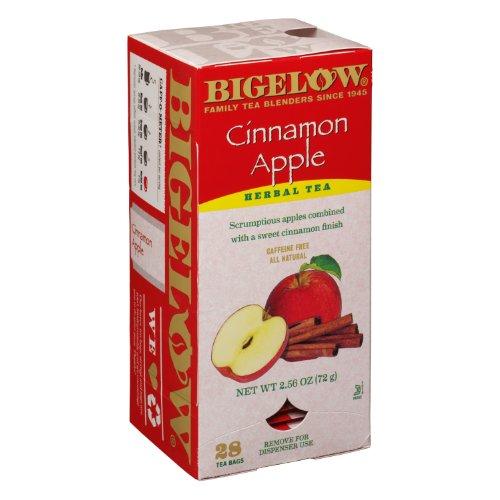 Bigelow Tea Bags, Cinnamon Apple Herbal, 28-Count Boxes (Pack Of 6) front-474374