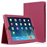 CaseCrown Bold Standby Case (Fuchsia) for iPad 4th Generation with Retina Display, iPad 3 & iPad 2 (Built-in magnet for sleep / wake feature)