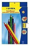 No.3941120 リラ・カラージャイアント太芯色鉛筆6.25mm 12色セット