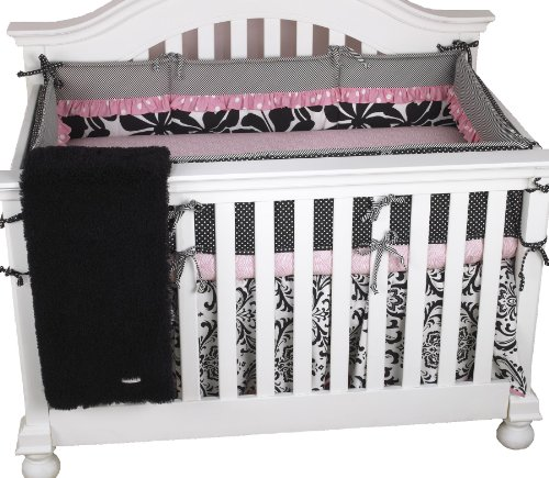 Cotton Tale Designs Girly 4 Piece Crib Bedding Set - 1