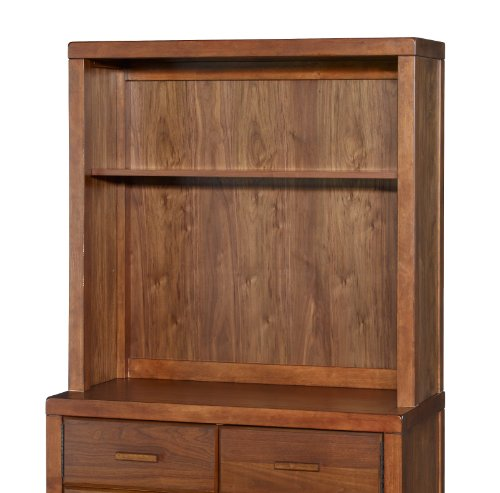 Best Buy! Westwood Design Park West Dresser Hutch, Walnut