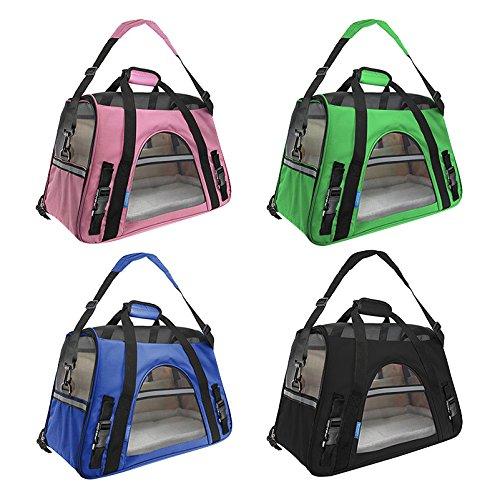 Lilys-Pet-Carrier-Foldable-Soft-Sided-Mash-Top-and-4-Sides-Lightweight-Handbag-or-Shoulder-Bag-Outdoor-Transport-Box-Dog-Cat-Carrier-Travel-Cage-Tent-Kennel