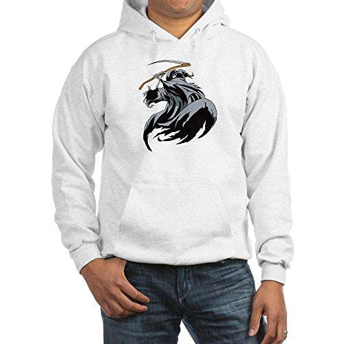 Royal Lion Hooded Sweatshirt Grim Reaper - White, 2X
