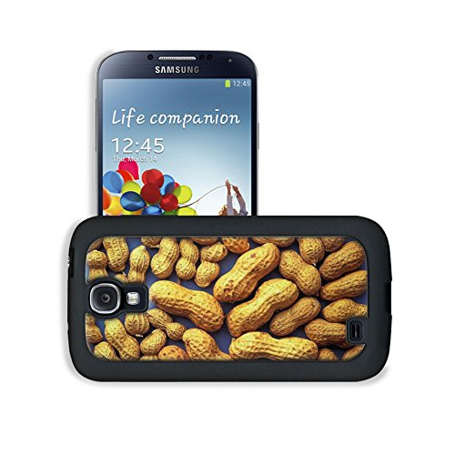 Whole Peanut With Shells Scattered Samsung I9500 Galaxy S4 Snap Cover Case Premium Leather Customized Made To Order Support Ready 5 3/16 Inch (132Mm) X 2 13/16 Inch (71Mm) X 4/8 Inch (12Mm) Luxlady Galaxy_S4 Professional Cases Touch Accessories Graphic Co front-1007962