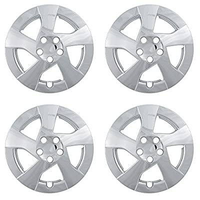 OxGord Hubcaps for Toyota Prius Set of 4 Pack Auto Wheel Covers