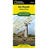 Isle Royale National Park (National Geographic Trails Illustrated Map)
