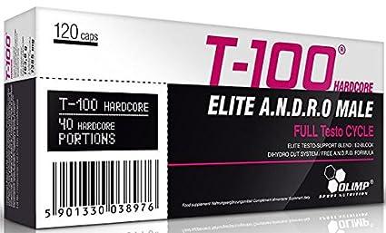 Olimp T-100 Hardcore 120 Kapseln, 1er Pack (1 x 163 g)