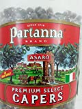 Partanna Premium Select Capers in Salt From Pantelleria Sicily 2.2 Pounds