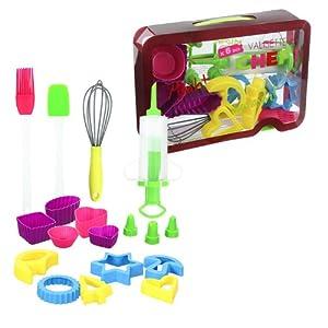 kit cuisine patisserie enfant silicone et plastique cuisine maison. Black Bedroom Furniture Sets. Home Design Ideas