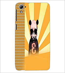 PrintDhaba Cartoon D-2923 Back Case Cover for HTC DESIRE 826 (Multi-Coloured)