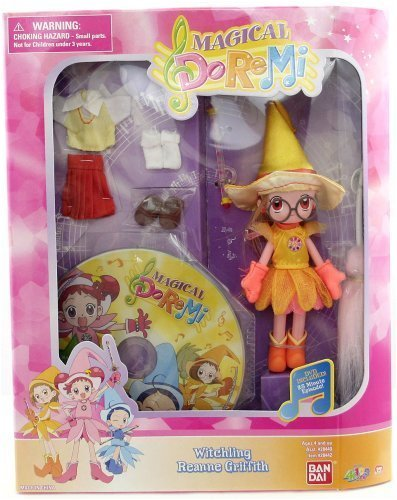 magical doremi witchling reanne griffith with dvd. Black Bedroom Furniture Sets. Home Design Ideas