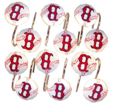 Boston Red Sox Shower Hook Set Boston   #Discount FAN SPORT SHOWER ...