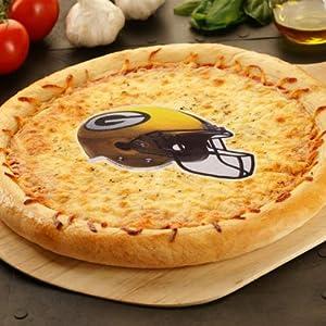 NFL Green Bay Packers 6-Pack Edible Helmet Pizza Prints