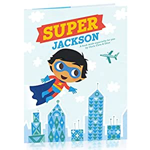 Buy Hallmark Personalized Books: Super Hero (Boy) Online ...