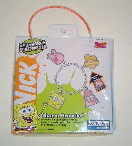 Spongebob Squarepants Makit Bakit Charm Bracelet Craft Kit