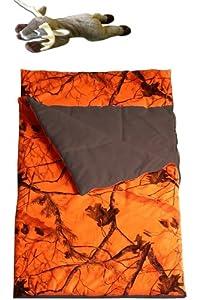 Realtree Blaze Sleeping Bag Kids Carstens Slumber Bag + Plush Deer Pillow Pal by Realtree