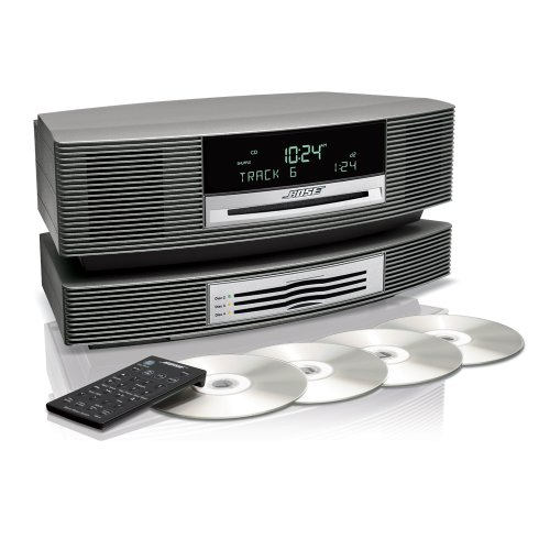 Bose® Wave® Music System With Multi-Cd Changer -- Titanium Silver
