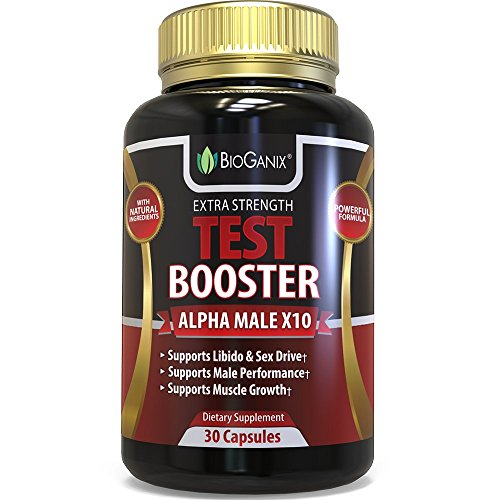 Testosterone Booster Supplement - Alpha Male Max Potency Natural Test Booster Pills & Libido Enhancer For Men To Increase Sex Drive & Build Muscle Mass - Maca, Tribulus, Fenugreek, Tongkat Ali (Fenugreek Extract Cream compare prices)