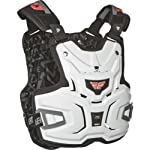 Fly Racing Pro Lite Adult Roost Deflector MX/Off-Road/Dirt Bike Motorcycle Body Armor - White / One Size