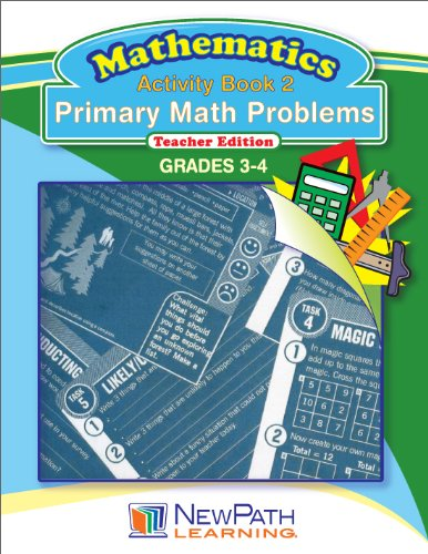 NewPath Learning Primary Math Problems Reproducible Workbook, Grade 3-4