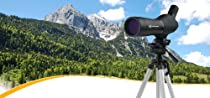 Meade 081011RE Fully Coated Water-Resistant Spotting Scope with 60-Millimeter Objective Lens, 20 to 60-Times Magnification (Black)