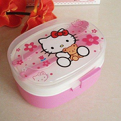 Sanrio Hello Kitty Children's Lunch Box - 1