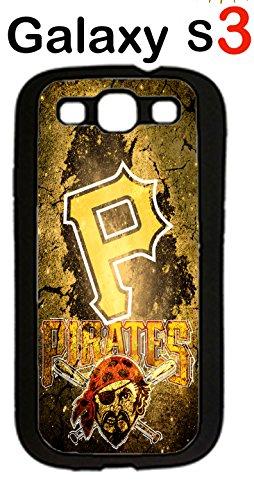 Pittsburgh Pirates Samsung Galaxy S3 Case Hard Silicone Case
