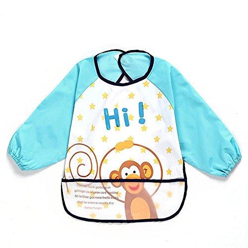 oral-q-unisexe-enfants-childs-arts-craft-tableau-tablier-bebe-avec-manches-poche-salopettes-impermea