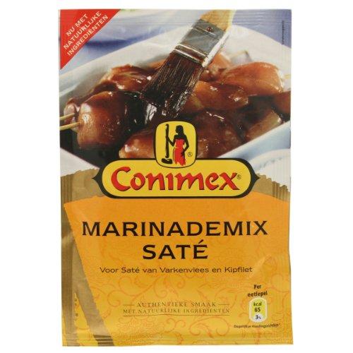 Conimex marinademix saté, mix de marinade pour viande, volaille, poisson, crevettes, épices, 38 g