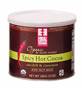 Equal Exchange Oganic Spicy Hot Cocoa from equal exchange