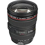 Canon EF 24-105mm f/4L IS USM Zoom Lens - White Box (New) (Bulk Packaging)