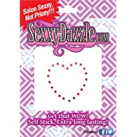 Red Crystal Heart Vajazzle