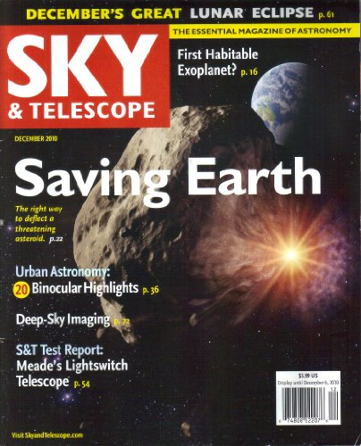 Sky & Telescope Magazine, 2010 Entire Year Lot 12 Issues, Volume 120