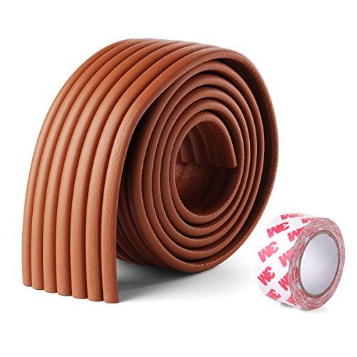 Xcellent-Global-2M-Baby-Sicherheit-Tabelle-Kantenschutz-Antikollisions-Strips-Holzfarbe-M-HG035W